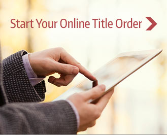 Start Your Online Title Order